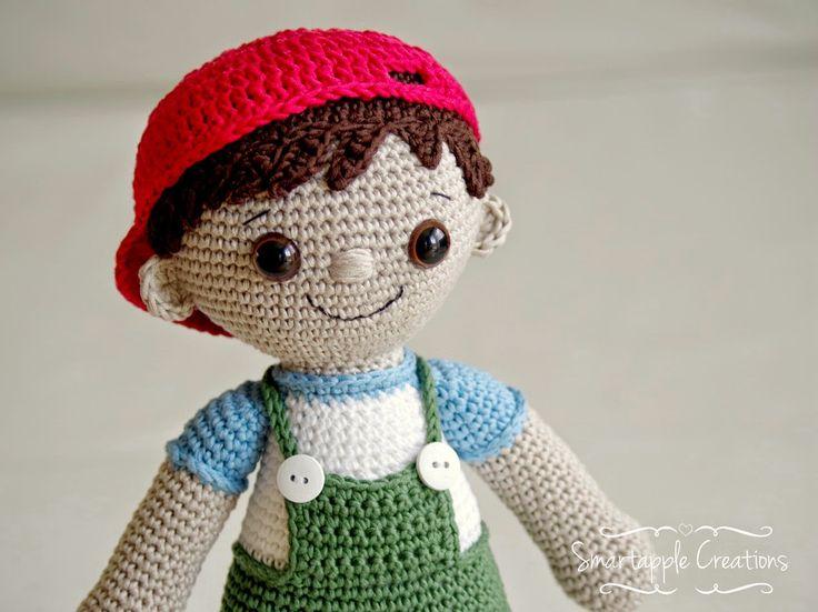 Smartapple Creations - amigurumi and crochet: New pattern - Tobias the amigurumi boy doll