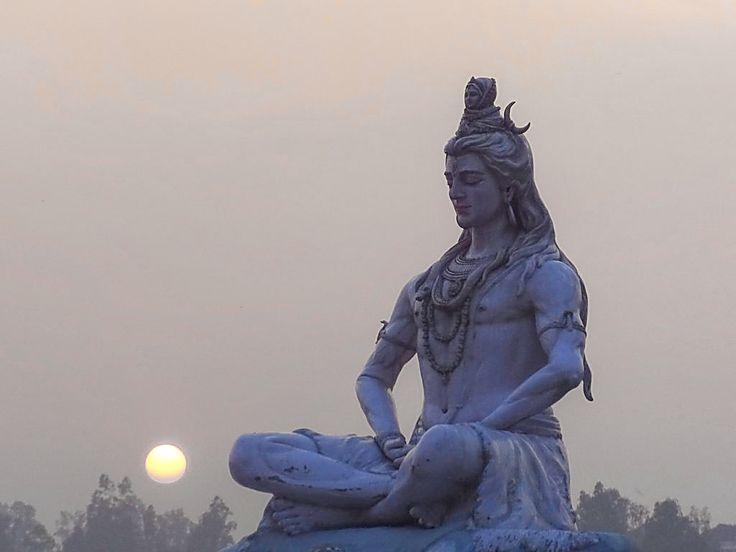 The Shiva at Rishikesh