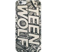 Teen wolf collection iPhone Case/Skin