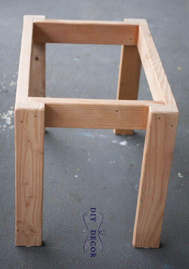 Sensory Tisch, Holzrahmen Rahmen Couchtische # Couchtische # Holzrahmen #Büro