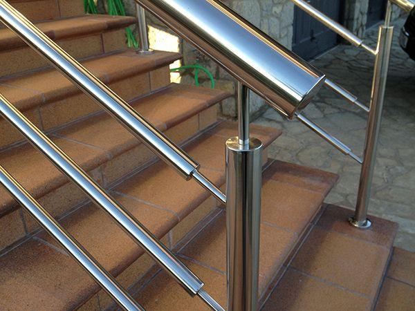 M s de 1000 ideas sobre barandillas de escalera en - Barandillas escaleras modernas ...