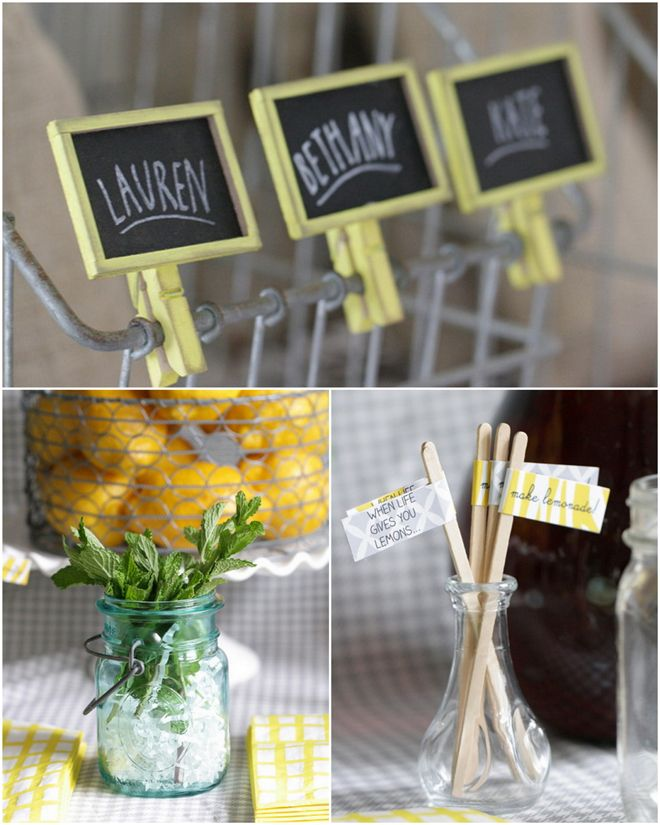 Host a Spring Craft Party! {love the little name tags!}