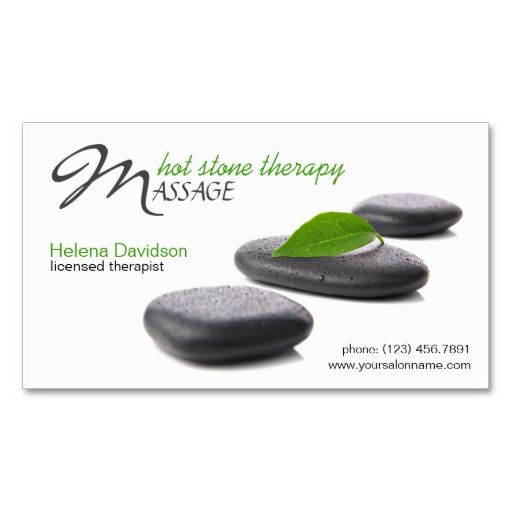 265 best massage business cards images on pinterest business card lastone hot stone massage day spa business cards cheaphphosting Gallery