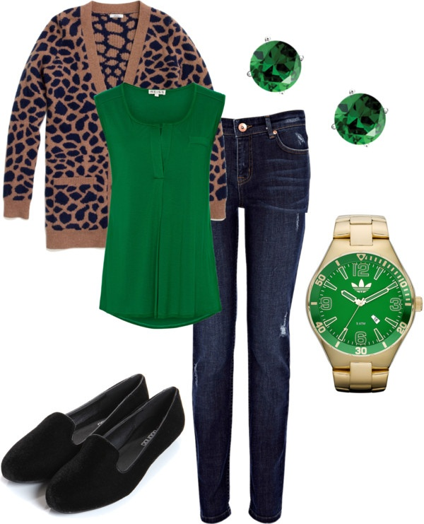 """""""#emerald #fall"""" by lildill26 on Polyvore"""
