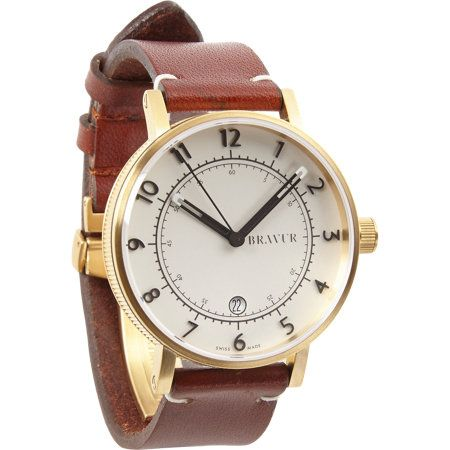Bravur Watches Round Face Watch - 41mm at Barneys.com