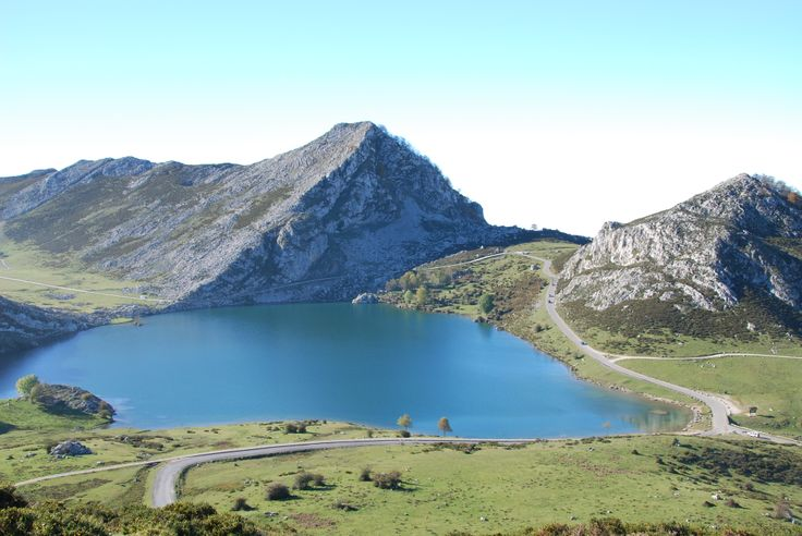 "Lakes at the National Reserve ""Picos de Europa"" , eastern Asturias."