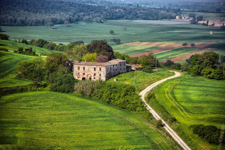 "Terre senesi - M. Bastianello ""Siena, Italy""  #architecture #italy #arredamento #stampe"