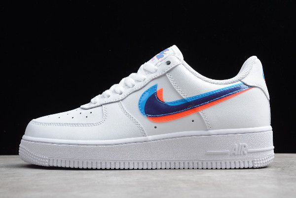 2019 Nike Air Force 1 '07 LV8 White 3D Glasses Double Swoosh ...