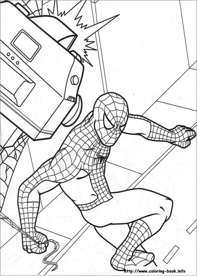 Sezan12 I Will Create A Coloring Book Page For Children For 5 On Fiverr Com Spiderman Coloring Coloring Pages Coloring Books