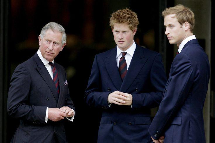 Charles - Harry - William