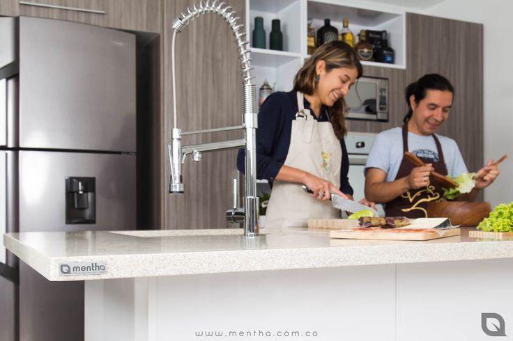 No creemos en cocinas perfectas, creemos en cocinas que reflejan perfectamente la esencia de las personas.  Mentha®  #QuieroMiCocinaMentha #CocinasExclusivas #Cocinas #ClientesFelicies #DisfrutaTuCocina #EjeCafetero