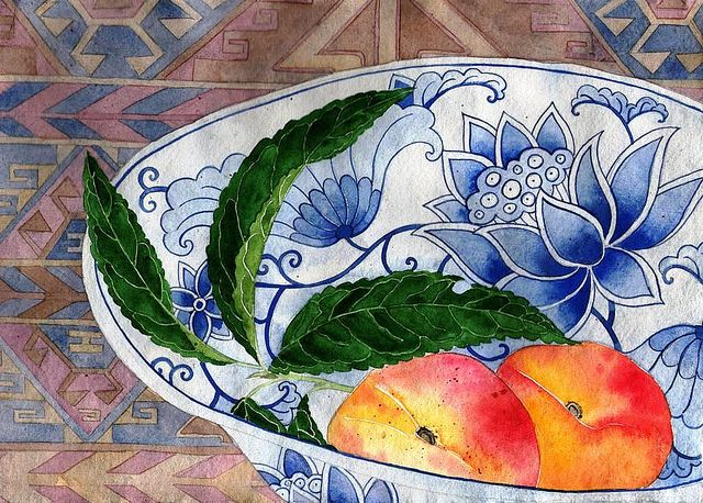 peaches by Mango Frooty, via Flickr