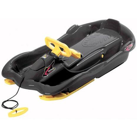 Vehicule pentru copii :: Saniute copii :: Saniute cu volan :: Sanie Space Black Alpen Gaudi