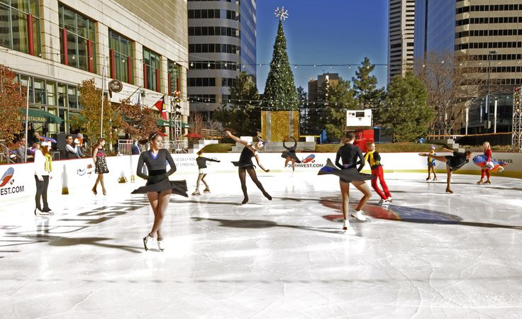 Ice skating at Skyline Park in Denver, Skate rental is $2 – or bring your own pair and skate for FREE! The rink will be open daily from November 23, 2012 through February 14, 2013.