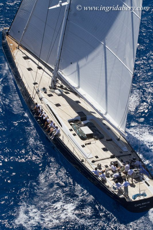 Nauta-designed sailing yacht CAPE ARROW wins at St. Barths Bucket Regatta 2015