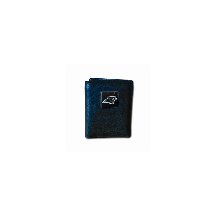NFL Panthers Tri-fold Wallet - Embossing Personalized Gift Item