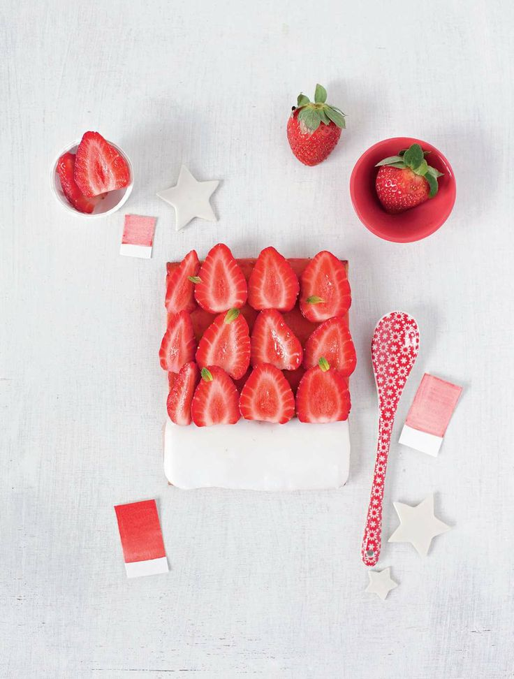 Strawberry - sugar by Emilie Guelpa | Cooked