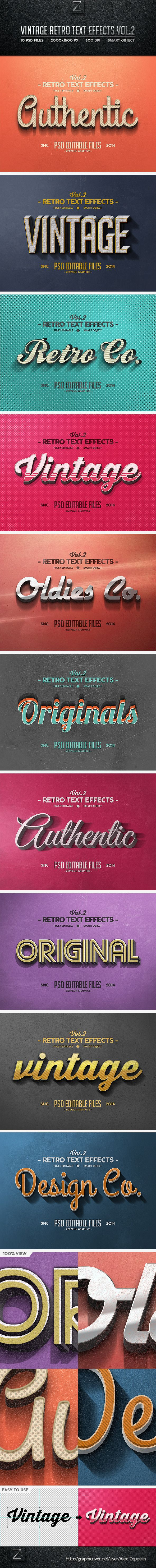 Vintage Text Effects Vol.2. Download here: http://graphicriver.net/item/vintage-text-effects-vol2/8540775?ref=ksioks