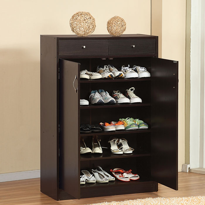 Five Shelf Shoe Cabinet for the