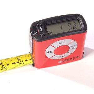 Take all the guess work out of your measurements with the eTape Digital Tape Measure. Taking accurate measurements on the fly and displaying them on its large digital display, and in general just making your life easier.