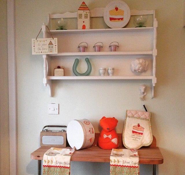 Homespun shelves
