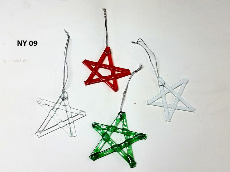 Wholesale, Chiristmas tree, fused glass, decoration, 2017, new year, home decor, handicraft