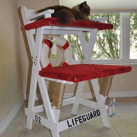 Beach Style Cat Furniture by Square Paws