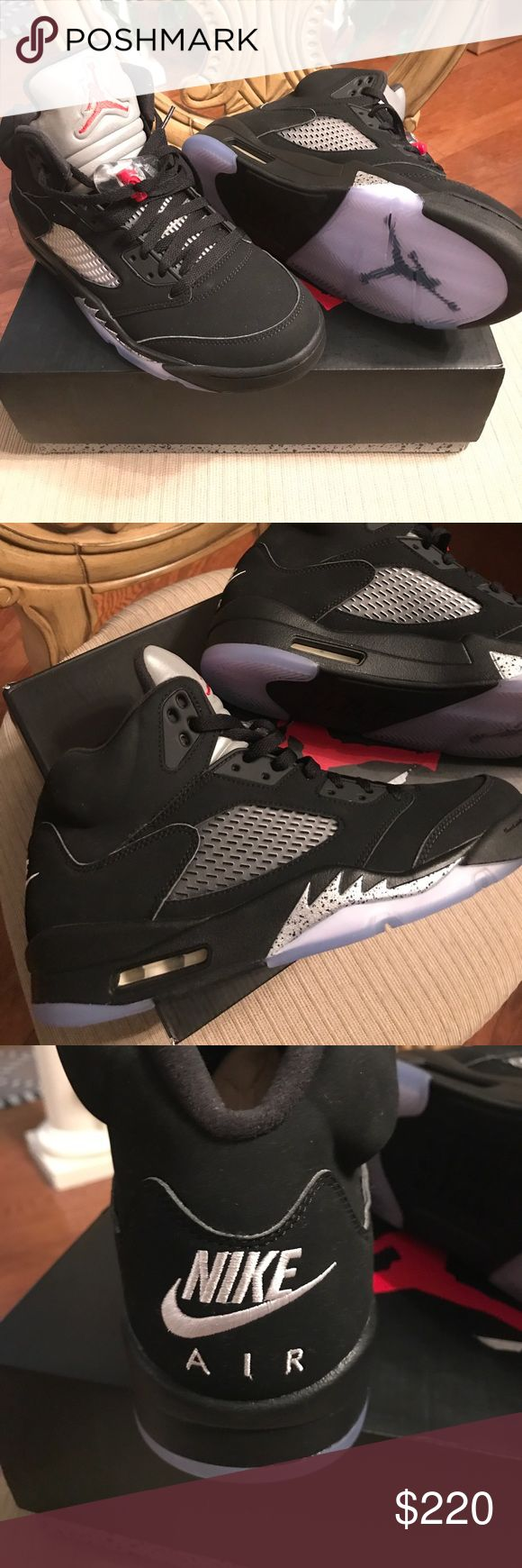 Nike Air Jordans retro 5 OG Deadstock New PayPal only, No trades Jordan Shoes  Sneakers