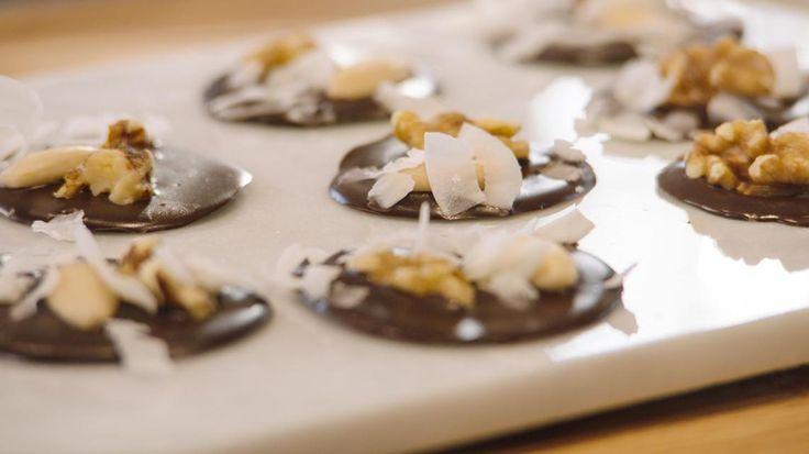 Chocolaatjes met studentenhaver | VTM Koken