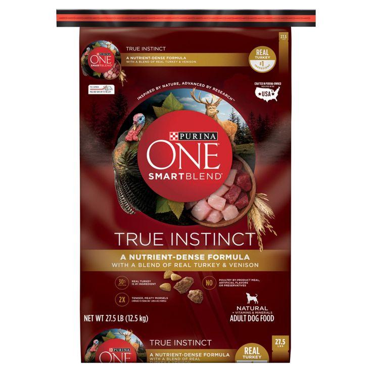 Purina One SmartBlend True Instinct Premium Real Turkey & Venison Dry Dog Food - 27.5lbs
