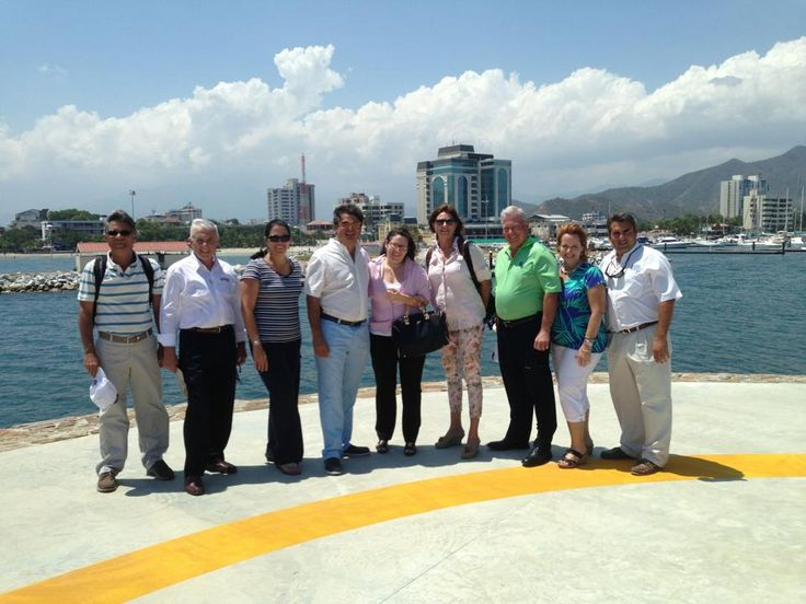 Association Reps at Marina Internacional de Santa Marta