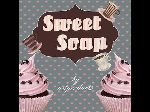 ▶ Sweet Soap by AST PRODUCTS - YouTube .  No ordinary soaps for no ordinary moments!!! www.astproducts.gr