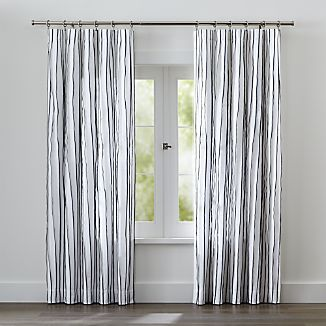 Kendal Blue Striped Curtains
