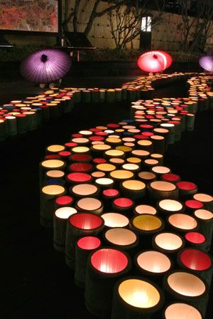 勝浦 竹灯篭の湯