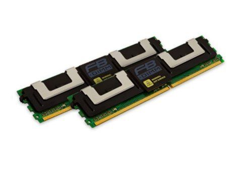 Kingston Technology 8GB Kit (2x4GB) 667MHz DDR2 SDRAM Memory for Fujitsu (KFJ-BX667K2/8G)