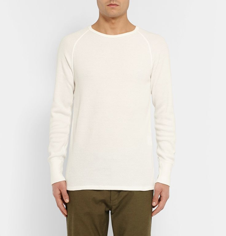 Crafted from high-quality Japanese fabrics, <a href='http://www.mrporter.com/mens/Designers/Nonnative'>nonnative</a>'s clothes are an assured route to stylish off-duty dressing. This 'Dweller' T-shirt is cut from a tactile waffle-knit cotton that's soft and insulating. The raglan sleeves enhance its casual appeal and add definition to the shoulders.