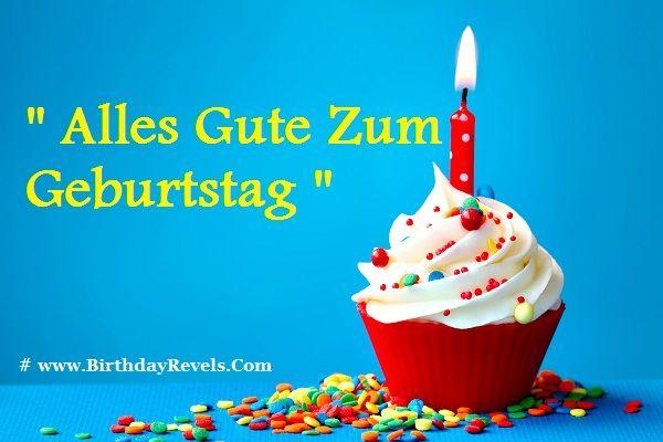 Happy Birthday In German Pics
