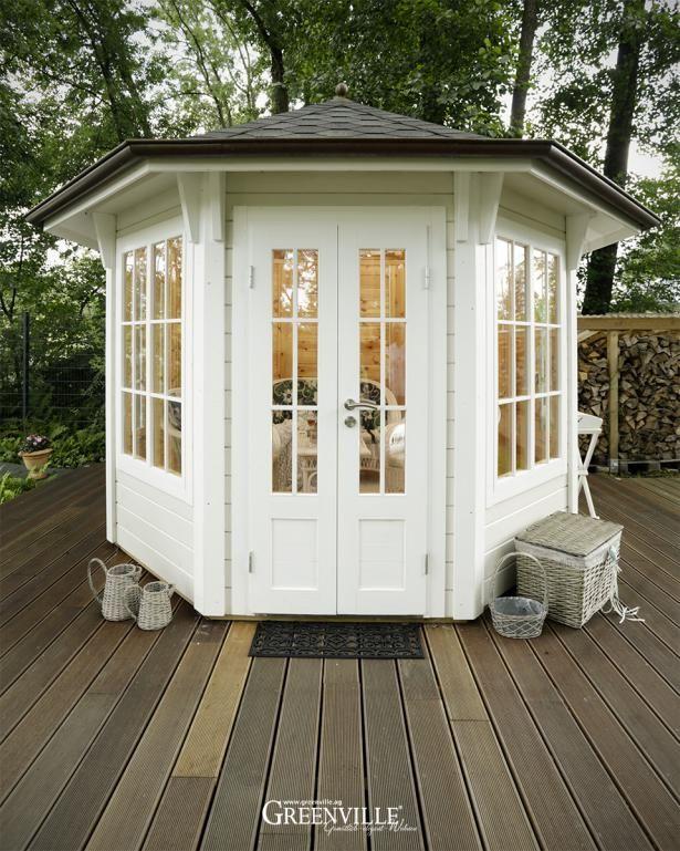 7 besten englische gartenh user bilder auf pinterest englisch gartenhaus und modell. Black Bedroom Furniture Sets. Home Design Ideas