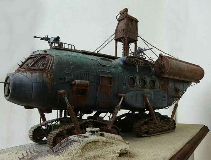 Élément pour décors ? Fdf3d2433deb4f9113f1f110db0c85f2--post-apocalyptic-steampunk