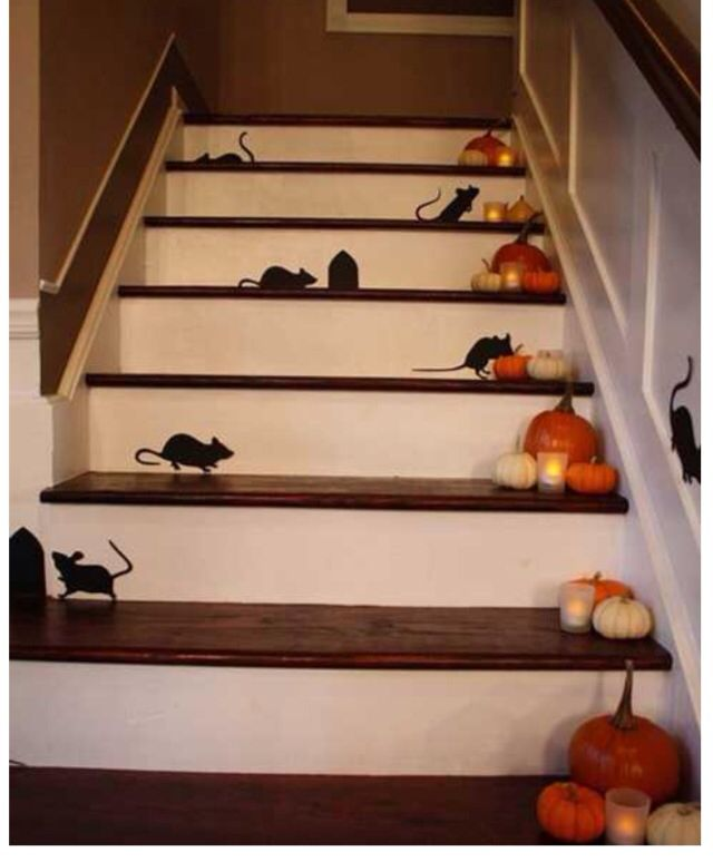 Amazing Halloween decorating idea.