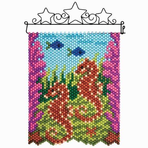 Herrschners® Seahorse Reef Beaded Banner Kit