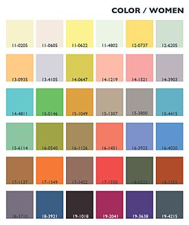 Womenswear Color Trends | Lenzing Spring/Summer 2014 Fashion & Color Trends
