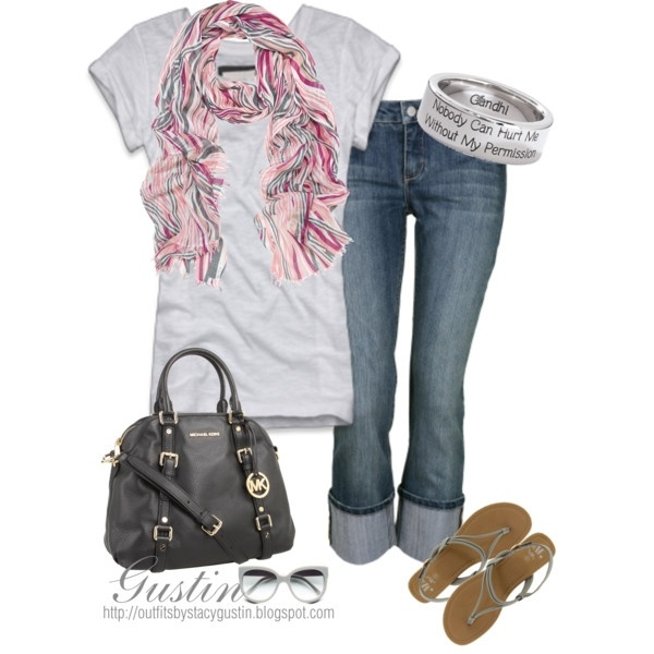 tshirt and jeans