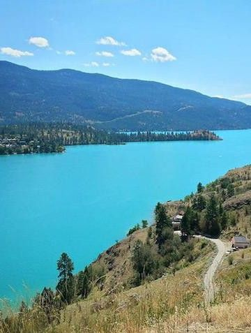 Tourism Vernon took to Facebook to explain the science behind Kalamalka Lake's unique colour.