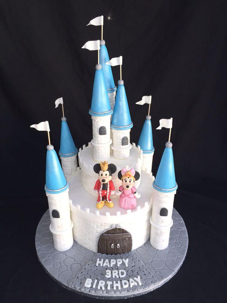 Best 25 Disney Castle Cake Ideas On Pinterest