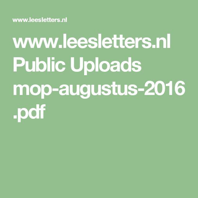 Public uploads mop augustus for Goedhart deuren