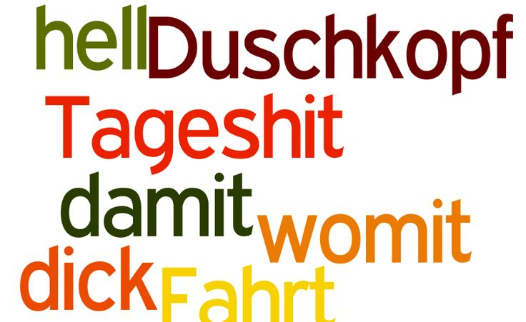 Seven German words that sound bad, but aren't