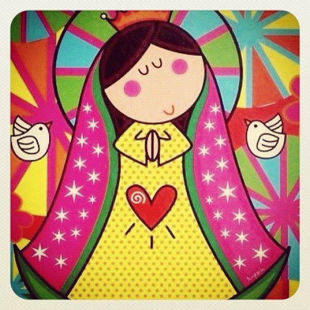 Virgencita linda - #instagood #iphonesia #photooftheday #instamood #iphoneonly #ipodonly #instacolombia #instamedellin #followme #likemyposts #megusta  #doubletap #jj #popularpage #instamood #bestoftheday #picoftheday #jj_forum #igerscolombia #igersmedellin - @lilianamoreno_- #webstagram