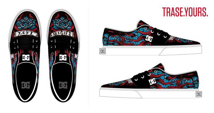DC skin. de Feña Cartes patrocinado por DC Shoes