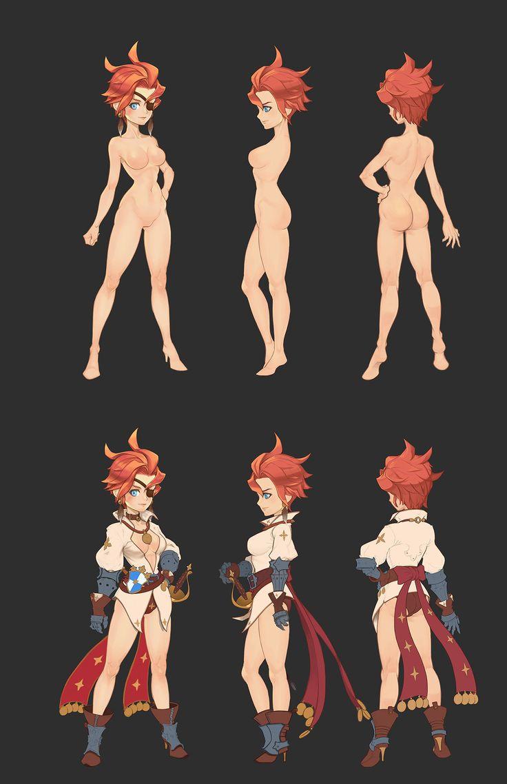 ArtStation - Fencing girl, bae yamile